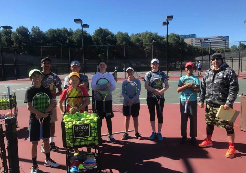 Winter Tennis Program – Tennis Photos – Sylvano Tennis Academy – Santa Clara, CA
