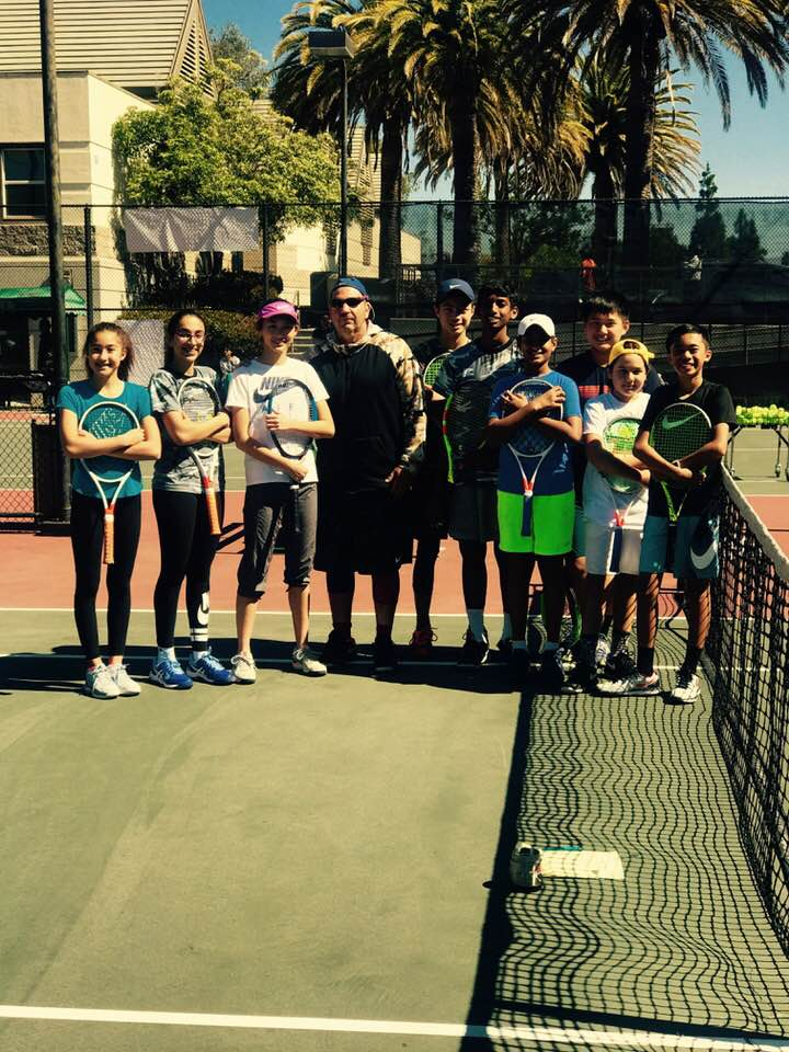 Junior Tennis Clinic Santa Clara