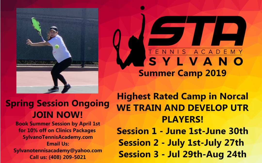 Summer Tennis Camp – STA Sylvano Tennis Academy – UTR Tennis Training