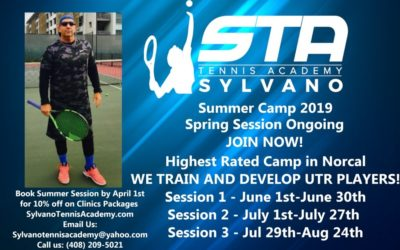 Summer Tennis Camp – Spring Session Ongoing – UTR Tennis Players
