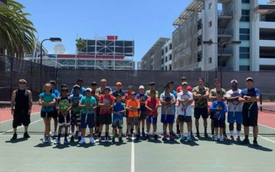 Summer Tennis Camp Pics – Building Confidence – Cryotherapy for Athletic Performance